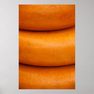 Fondo del queso posters