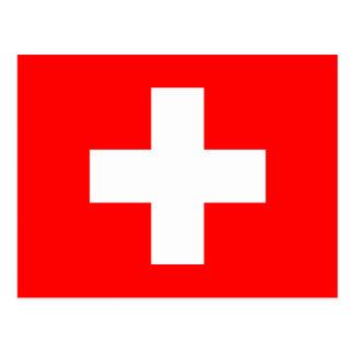 Fondo Editable, la bandera de Suiza Postal