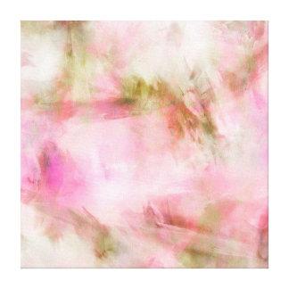 Fondo en colores pastel rosa claro de la acuarela lona envuelta para galerias