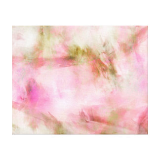 Fondo en colores pastel rosa claro de la acuarela impresión de lienzo