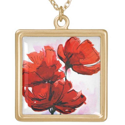 Fondo floral pintado extracto 2 grimpola personalizada