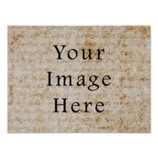 Fondo francés del papel de pergamino de la escritu fotos