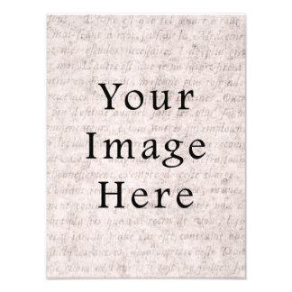 Fondo francés del papel de pergamino del texto del fotografias