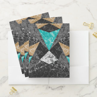 Fondo geométrico G430 del mármol de la carpeta del