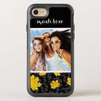 Fondo hermoso del otoño de la foto y del nombre funda OtterBox symmetry para iPhone 8/7