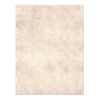 Fondo ligero del papel de la antigüedad del pergam impresiones fotograficas