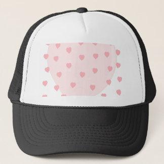 Fondo llenado corazón gorra de camionero
