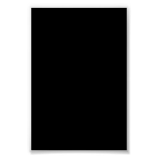 Fondo negro en un poster