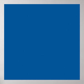 Fondo personalizado azul corporativo del color póster