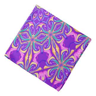 Fondo púrpura abstracto bandanas