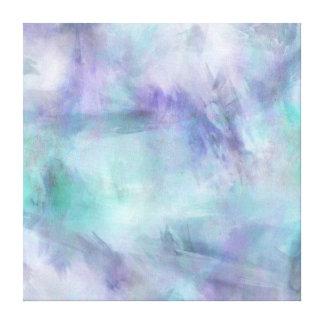 Fondo púrpura azul en colores pastel de la impresiones de lienzo