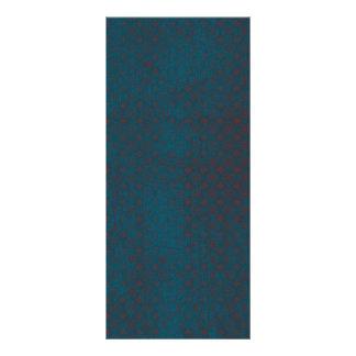 Fondo rojo sucio azul diseño de tarjeta publicitaria