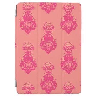 Fondo rosado/de color salmón del vintage del color cubierta de iPad air