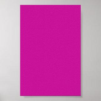 Fondo rosado de neón caliente en un poster
