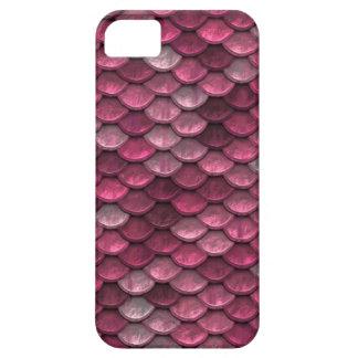 Fondo rosado de Snakeskin Funda Para iPhone SE/5/5s