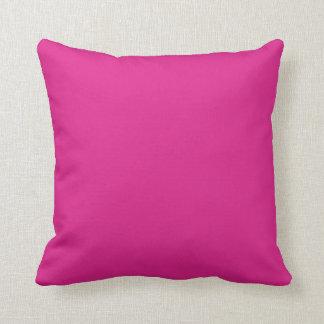 Fondo rosado del color de Barbie Almohada