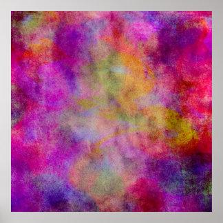 Fondo rosado rojo púrpura del extracto de la póster
