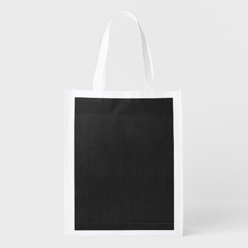 Fondo texturizado cartulina negra bolsa para la compra