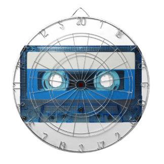 Fondo transparente del casete de cinta diana