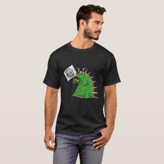 Fondo unisex de la oscuridad de la camiseta de
