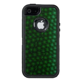 Fondo verde abstracto funda otterbox para iPhone 5/5s/SE