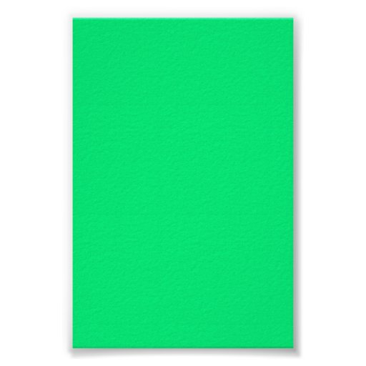 Fondo verde de neón brillante en un poster
