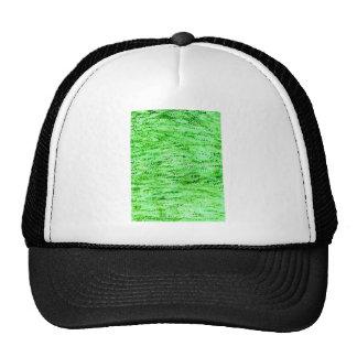Fondo verde del Grunge Gorra