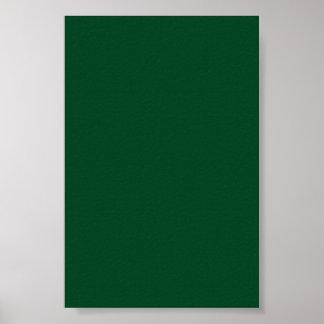 Fondo verde imperecedero oscuro en un poster