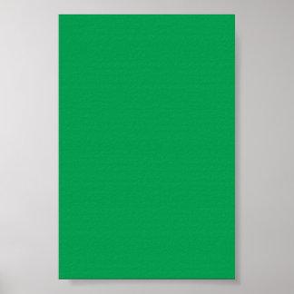Fondo verde medio en un poster