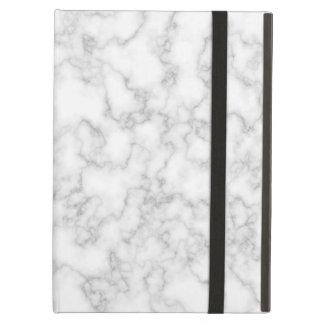 Fondo veteado del modelo de la piedra del mármol funda para iPad air