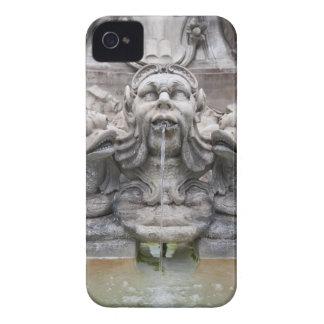 Fontana del Pantheon (1575) diseñó por Giacomo iPhone 4 Case-Mate Cárcasas