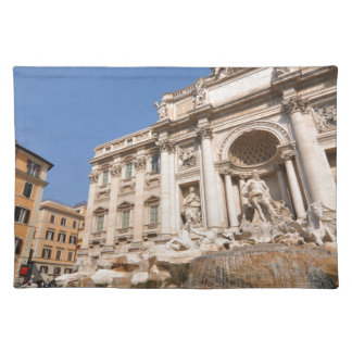 Fontana di Trevi en Roma, Italia Salvamanteles