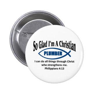 Fontanero cristiano pin