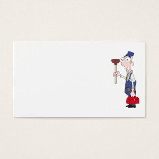 fontanero tarjeta de visita