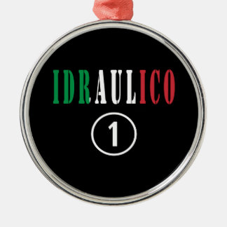Fontaneros italianos: Uno de Idraulico Numero Ornamento De Navidad