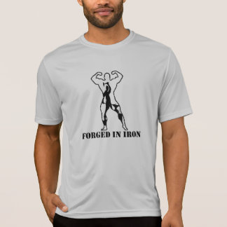 Forjado en hierro camiseta