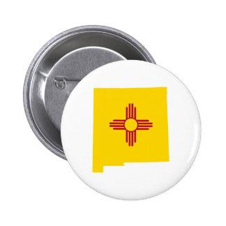 Forma de New México Pin