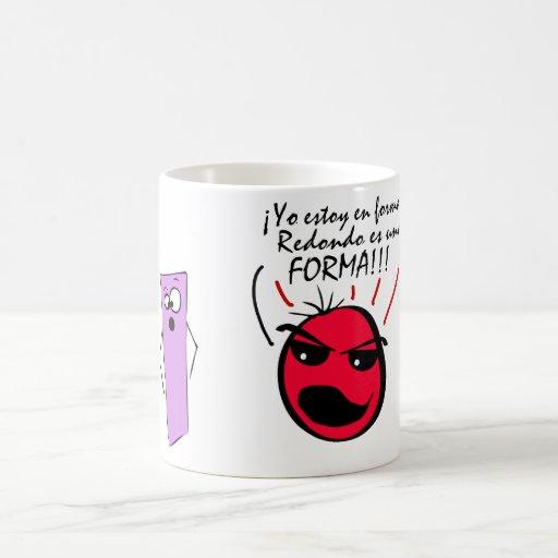 ¡Forma estoy del en de Yo del ¡, una FORMA de REDO Tazas De Café