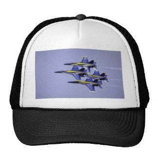 Formación de diamante apretada, ángeles azules, EL Gorras De Camionero