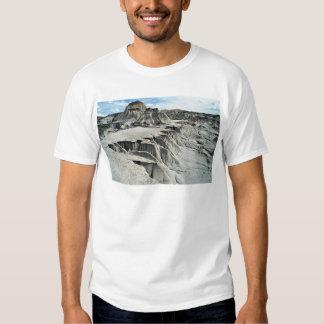 Formación de la erosión del desierto, parque camisetas