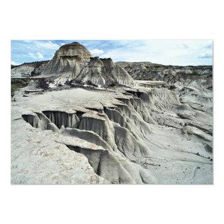 Formación de la erosión del desierto, parque invitación 12,7 x 17,8 cm