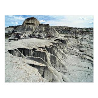 Formación de la erosión del desierto, parque provi tarjetas postales