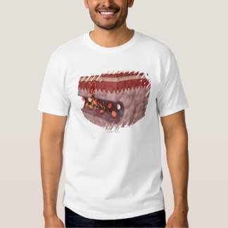 Formación del coágulo de sangre camisetas