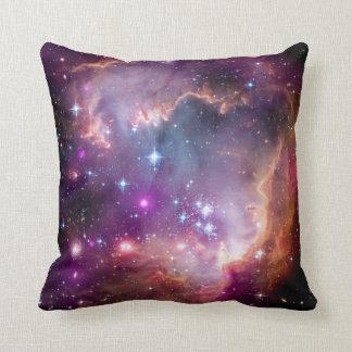 Formación estelar de NGC 602 - foto del espacio de Cojín Decorativo