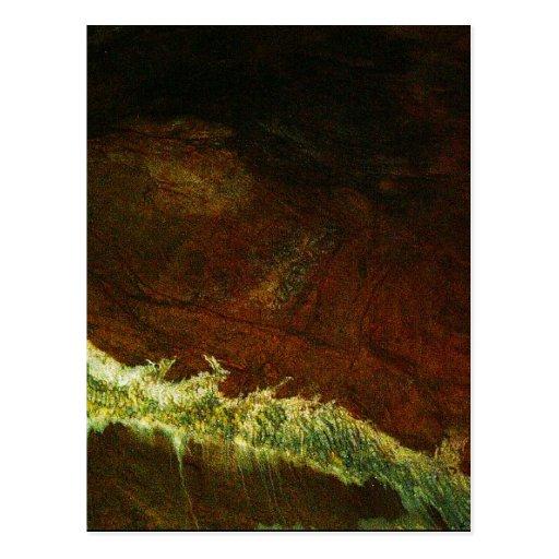 Formación PICT0093A de la cueva de Estrella del la Tarjeta Postal