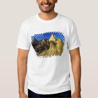Formaciones de los Badlands en el parque Camisetas