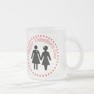 formalmente novias taza de café esmerilada