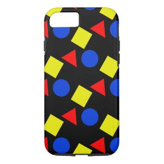 Formas en colores primarios en el caso del iPhone Funda iPhone 7
