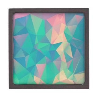 Formas geométricas abstractas coloridas de las joyero