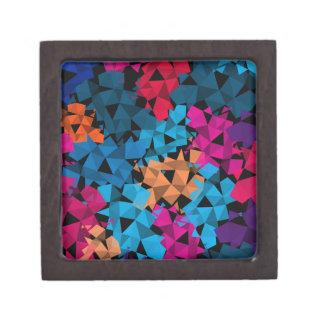 Formas geométricas coloridas 3D Caja De Regalo